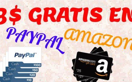 Swagbucks| MEJOR PAGINA PARA GANAR DINERO EN GIFT CARDS DE PAYPAL Y AMAZON + REGALO DE 3$