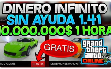 TENER DINERO INFINITO *SOLO* SIN AYUDA +$10,000,000$ EN 1 HORA! (FUNCIONA)