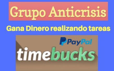 Timebucks, Ganar dinero fácil realizando tareas. (Tutorial Español)