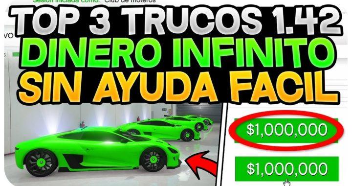 TOP 3 TRUCO DINERO INFINITO +1,000,000$  *SOLOS* 1.42/1.41! *CONSIGUE EL DLC DE MAÑANA GRATIS*