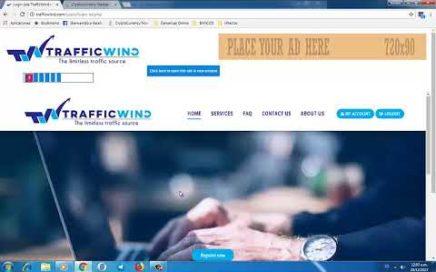 TrafficWind: Gana dinero fácil viendo anuncios