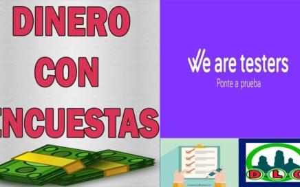 We Are Tester   Gana Dinero Gratis Con Encuestas