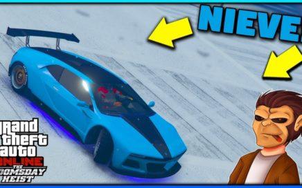 ¡Ya llego la Nieve! | GTA Online
