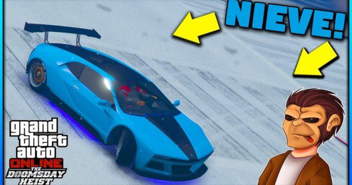 ¡Ya llego la Nieve!   GTA Online