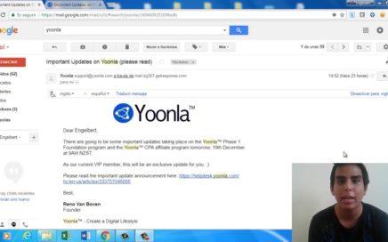 YOONLA SUSPENDE SUS OPERACIONES POR IMPLEMENTACIÓN DE MEJORAS | Como Ganar Dinero Por Internet 2018