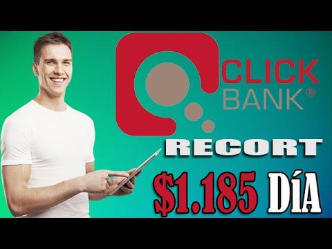 (1.185$ en un día) Clickbank la mejor opcion para ganar dinero en Internet