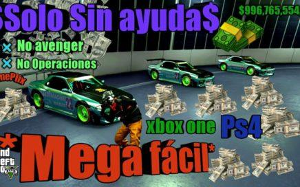 *Solo Sin Ayuda* Truco Dinero Infinito Duplicar Autos Facil y rapido Gta5 online Xbox one Ps4