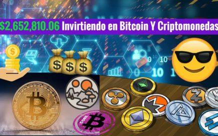 $2,652,810.06 Invirtiendo en Bitcoin Y Criptomonedas