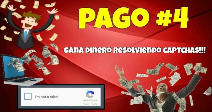 2Captcha Pago #4 GANA  dinero resolviendo CAPTCHAS!!!