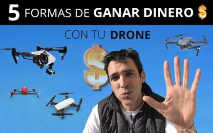 5 formas de GANAR DINERO con tu DRONE