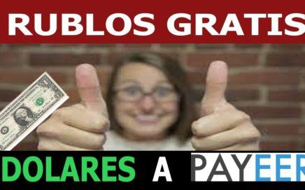 6 DOLARES GRATIS CONSIGUIENDO RUBLOS RÁPIDO ¡ASÍ!