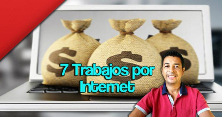 7 trabajos por Internet con los que tendrás dinero