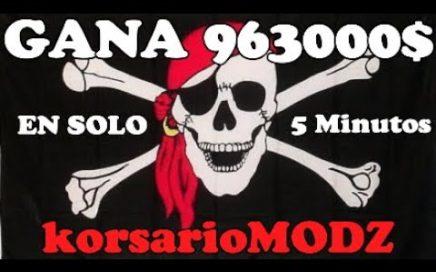 963000$ EN *SOLO* 5 MINUTOS GANA DINERO FACIL EN GTA 5 ONLINE APROVECHALO