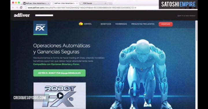 AdFiver gana dinero visitando paginas web PayPal