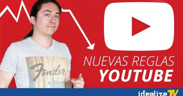 Ahora ganar dinero con videos será más difícil. Nuevas Reglas Youtube 2018