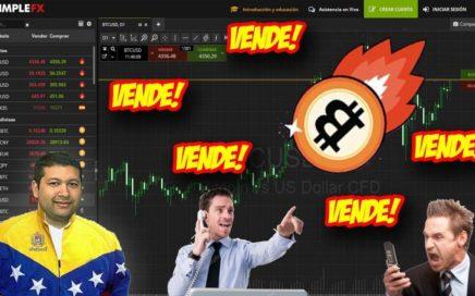 ¡Alerta! el Bitcoin Puede Seguir Cayendo en el 2018. SimpleFX