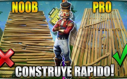 APRENDE A CONSTRUIR COMO UN PRO! GUIA DEFINITIVA PARA CONSTRUIR MAS RAPIDO EN FORTNITE BATTLE ROYALE
