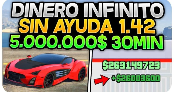 "¡BESTIAL! DINERO INFINITO SIN AYUDA!! 5.000.000$/30 MIN ""TRUCAZO BESTIAL"" (GTA 5 ONLINE 1.42)"