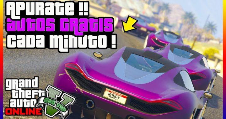 BESTIAL!! TODO LOS AUTOS DE GTA V ONLINE GRATIS!! [ PS4 - XBOX ONE ]