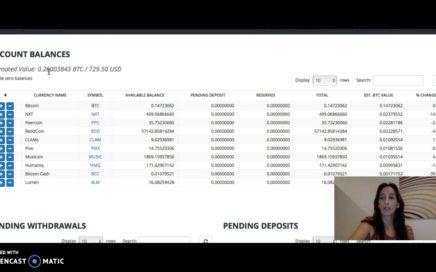 Bitrex  en  Automatico  4   Maximizando   el Bot