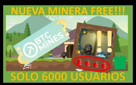 btcmines Free BTC || Minería Virtual || dinero rápido en Internet