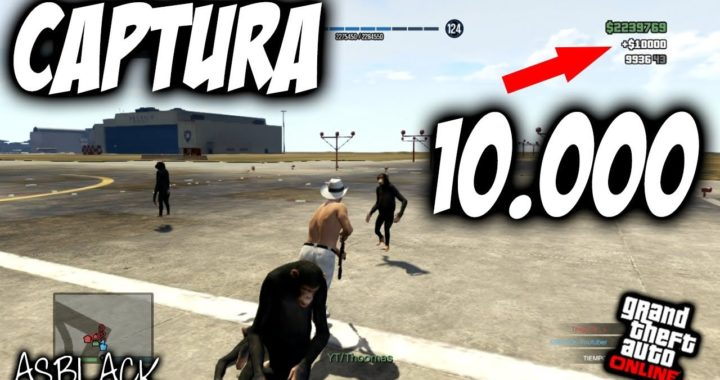 CAPTURA 10.000$ - FUNCIONANDO - GTA 5 - OLD GEN - (PS3)