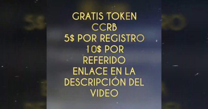 ccrb coin regala 5$ por registro y 10$ por referido  APROVECHEN VENEZOLANOS HASTA EL 27 DE ENERO