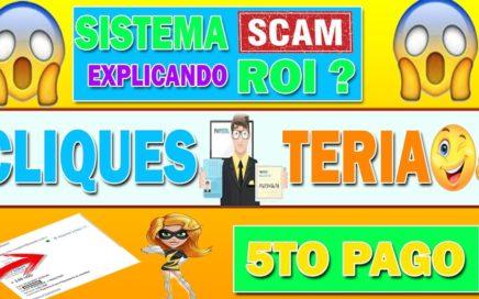 cliquesteria Explicando Sistema Roi |5to pago Recibido | Payeer  |