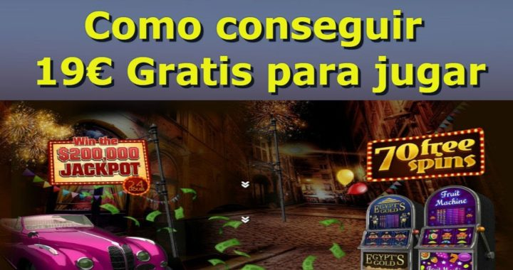Como conseguir 19€ para jugar|Casino,rascas Etc...