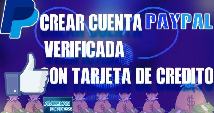 Como Crear Cuenta Paypal Verificada Con Tarjeta Falsa 29 Diciembre 2017