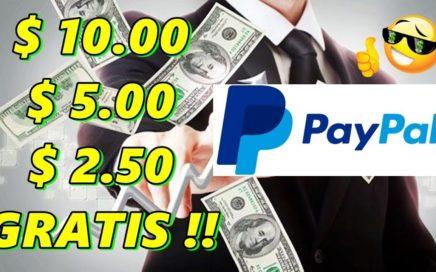 COMO GANAR $ 10.00 GRATIS A PAYPAL SIN NECESIDAD DE INVERSION !! DESDE TU CELULAR MIRANDO VIDEOS !!