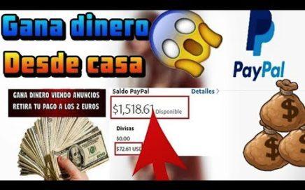 COMO GANAR 19 DOLARES PARA PAYPAL *Comprobante* | 2018 |  Dinero Para Paypal | SCARLET-CLICKS 2018 |