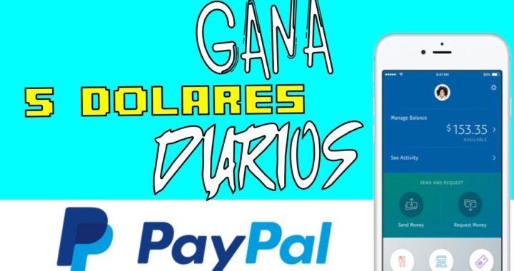 COMO GANAR 5 DOLARES DIARIOS SIN PROBLEMAS (PayPal) | (28 ENERO 2017)