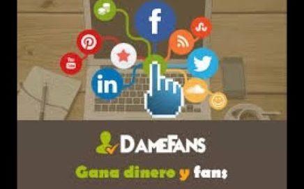 Como Ganar Dinero con Paypal y suscribers 2018 | DameFans | #TuToRisTiCliP