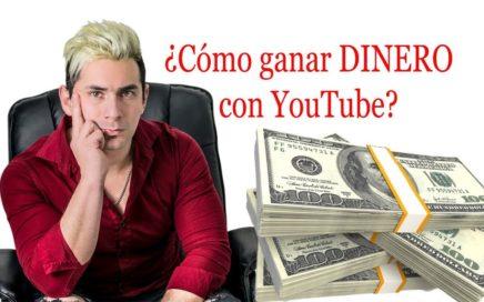 Como ganar DINERO con YouTube (Fácil)