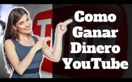 Como ganar dinero con YouTube Las 2 únicas formas para hacerlo