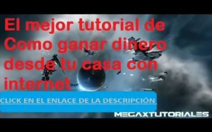 Como ganar dinero desde tu casa con internet -- Gratis (Nuevo 2013) Español.
