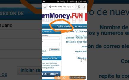 Como ganar dinero desde tu casa por internet USANDO TU CELULAR!!! (No confirmado)