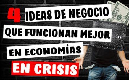 Como Ganar Dinero en época de Crisis - 4 Negocios que se Benefician de la Crisis