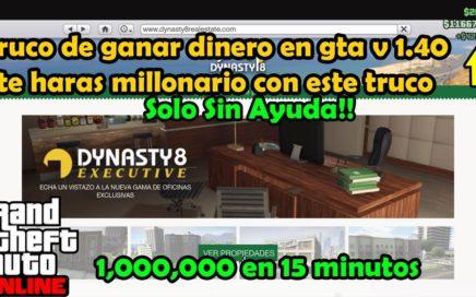 Como ganar dinero en gta v online 1.40 vendiendo departamentos sin ayuda