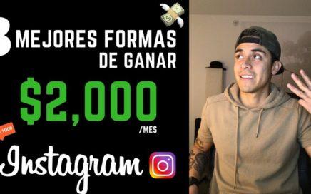 Como ganar dinero en Instagram | Las 3 formas más fáciles de ganar dinero con Instagram en 2018