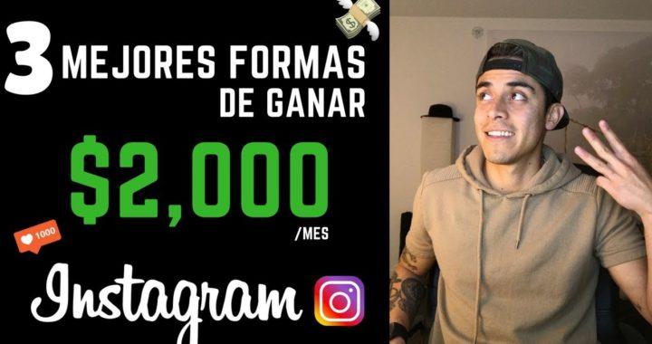Como ganar dinero en Instagram   Las 3 formas más fáciles de ganar dinero con Instagram en 2018