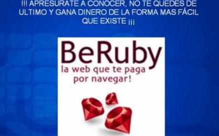 como ganar dinero en internet (BeRuby) / gana dinero extra /online/ dinero extra por internet