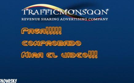Como ganar dinero fácil por Internet con TrafficMonsoon 2015