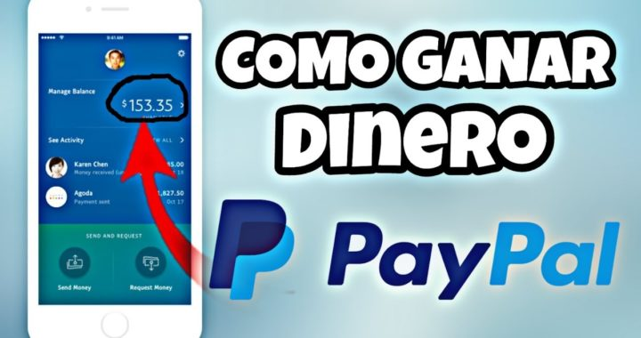 Como GANAR DINERO   Ganar dinero por internet en PayPal