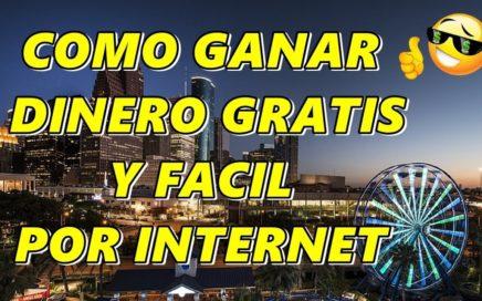 COMO GANAR DINERO GRATIS, FACIL Y RAPIDO POR INTERNET DESDE TU LAPTOP Y DESDE TU CELULAR.