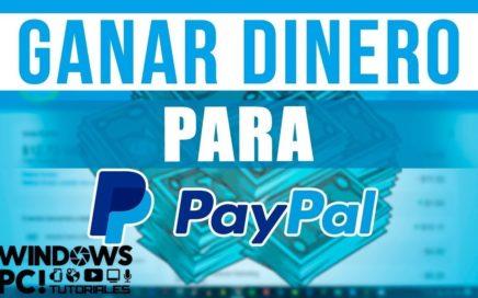 COMO GANAR DINERO GRATIS Y FACIL PARA PAY PAL  $150 DOLARES EN POCO TIEMPO