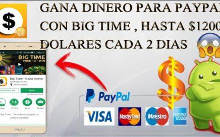 Como Ganar Dinero para paypal en Android - Gana Hasta $1200 dolares para tu paypal gratis