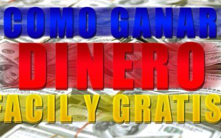 COMO GANAR DINERO PARA PAYPAL GRATIS // 10$ EN UNA HORA 2018