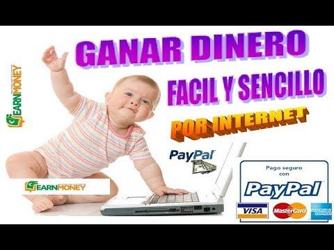 """Como """"Ganar Dinero"""" Por Internet """"Rápido"""" y Seguro """"YouTube"""""""